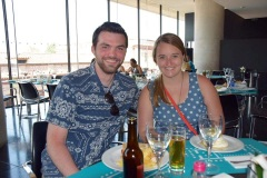 Lunch at the Acropolis museum